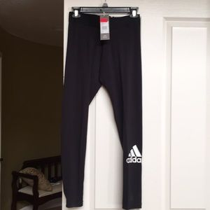 Brand new Adidas black tights